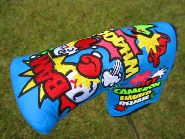 scotty cameron custom shop limited release turf wars blade putter golf headcover