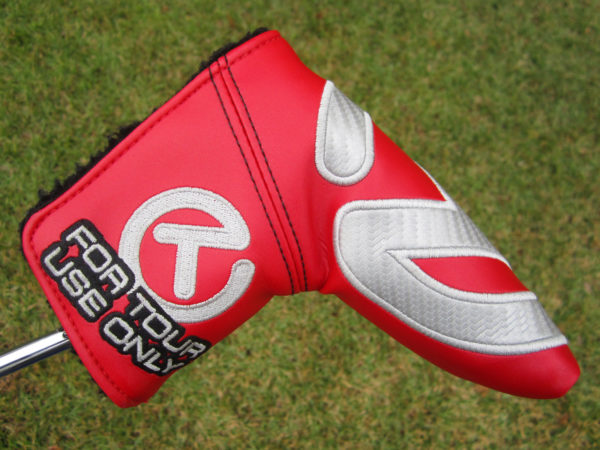 scotty cameron tour only red and silver industrial circle t headcover