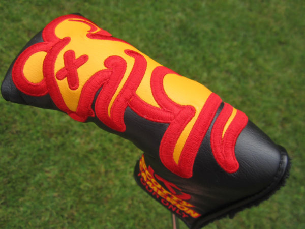 scotty cameron tour only tour rat circle t blade putter golf headcover