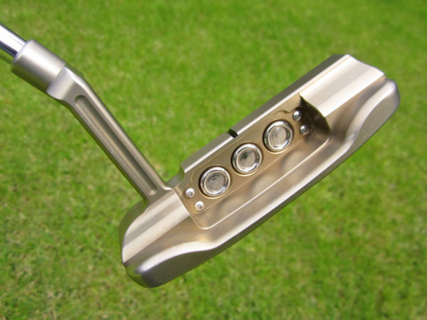 scotty cameron tour only chromatic bronze masterful super rat gss circle t 360g with top line putter golf club