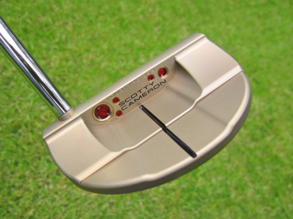 scotty cameron tour only chromatic bronze flowback 5 circle t 360g putter golf club