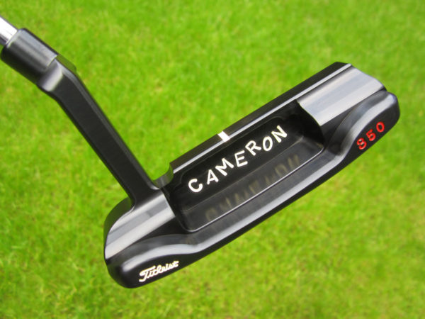scotty cameron tour only carbon brushed black masterful 009m 350g circle t with jordan spieth style stamps jackpot johnny putter golf club