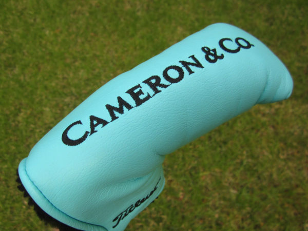 scotty cameron tour only tiffany gss silver patch circle t headcover golf