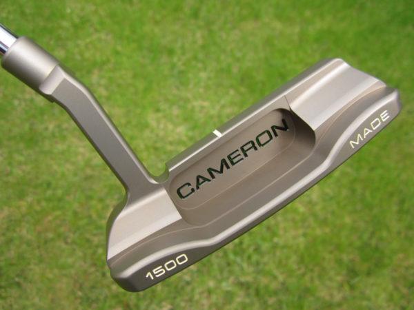 scotty cameron limited edition inspired by jordan spieth chromatic bronze newport 009 350g putter golf club