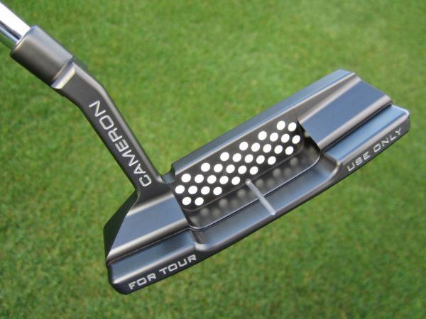 scotty cameron tour only black t22 newport 2 circle t 340g putter golf club