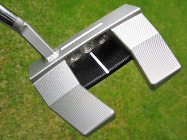 scotty cameron tour only 2021 justin thomas phantom x t5.5 circle t welded flojet neck vertical top line 360g putter golf club