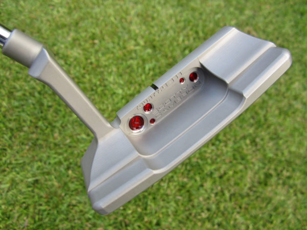 scotty cameron tour only squareback 2 tourtype special select sss misted non glare circle t putter with top line 360g golf club