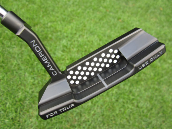 scotty cameron tour only black t22 newport 2 terylium circle t 340g putter golf club