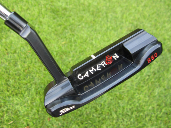 scotty cameron tour only carbon brushed black masterful 009m circle t 350g jordan spieth with hot head harry and jackpot johnny putter golf club