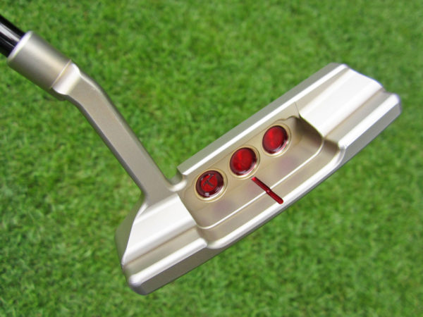 scotty cameron tour only chromatic bronze sss tour rat concept 2 circle t 360g with black shaft putter golf club