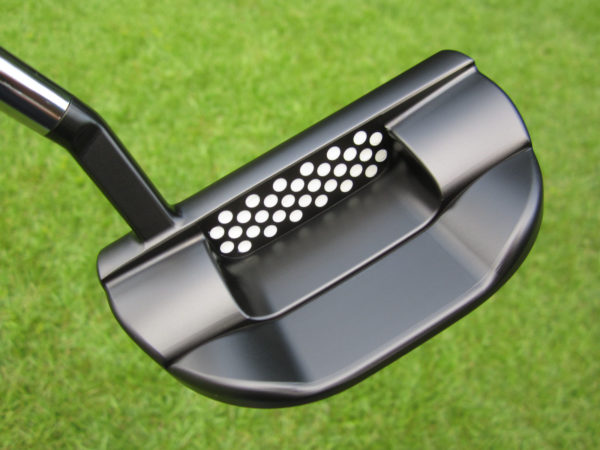 scotty cameron tour only black fastback 1.5 t22 terylium circle t with naked head design 360g putter golf club