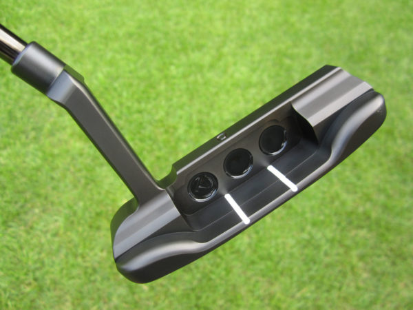 scotty cameron tour only tour rat black circle t 360g with dual sight lines and sight circle putter golf club