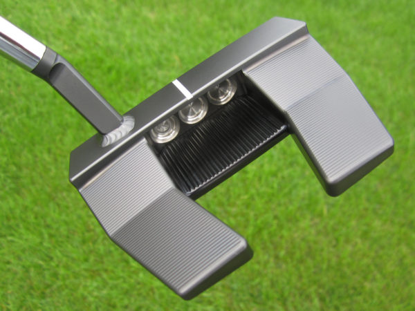 scotty cameron tour only black phantom x t5.5 circle t with welded flojet neck 360g putter golf club