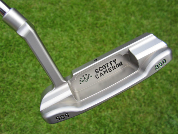 scotty cameron tour only sss masterful 009m circle t 350g with scotty dog stamp putter golf club
