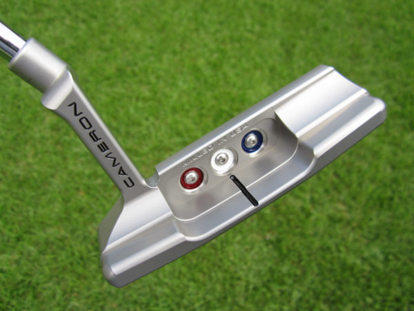 scotty cameron limited edition 2021 champions choice newport 2 button back terylium insert putter