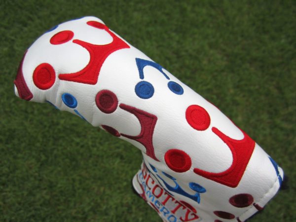 scotty cameron limited edition 2021 red white and blue mini crowns encinitas gallery headcover