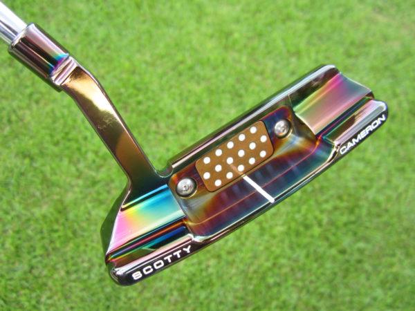 scotty cameron limited edition newport 2 black pearl terylium ten brooks koepka putter golf club