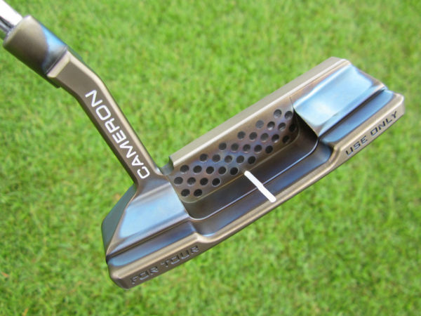 scotty cameron tour only chromatic marble t22 newport 2 terylium circle t 360g putter golf club
