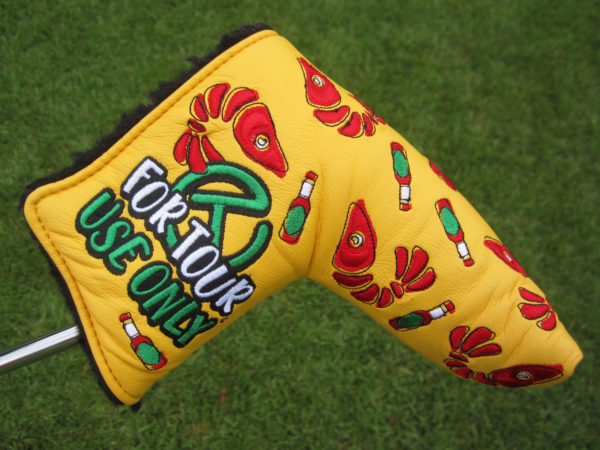 scotty cameron tour only louisiana open crawfish craw daddy open circle t event headcover