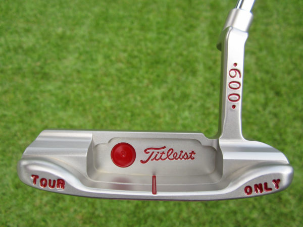 scotty cameron tour only left hand lh sss 009 circle t 350g deep milled tiger woods style stamps putter golf club