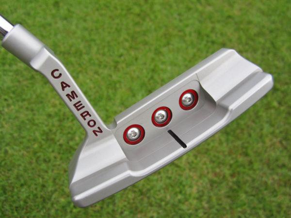 scotty cameron tour only deep milled sss t10 terylium newport 2 circle t putter golf club brooks koepka