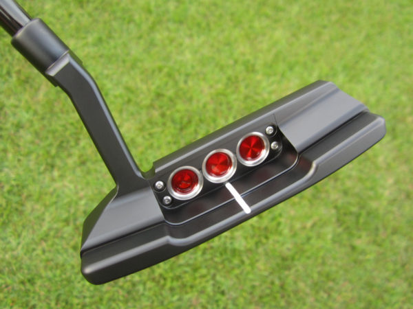 scotty cameron tour only black newport 2 tnp2 gss select circle t putter golf club with black shaft